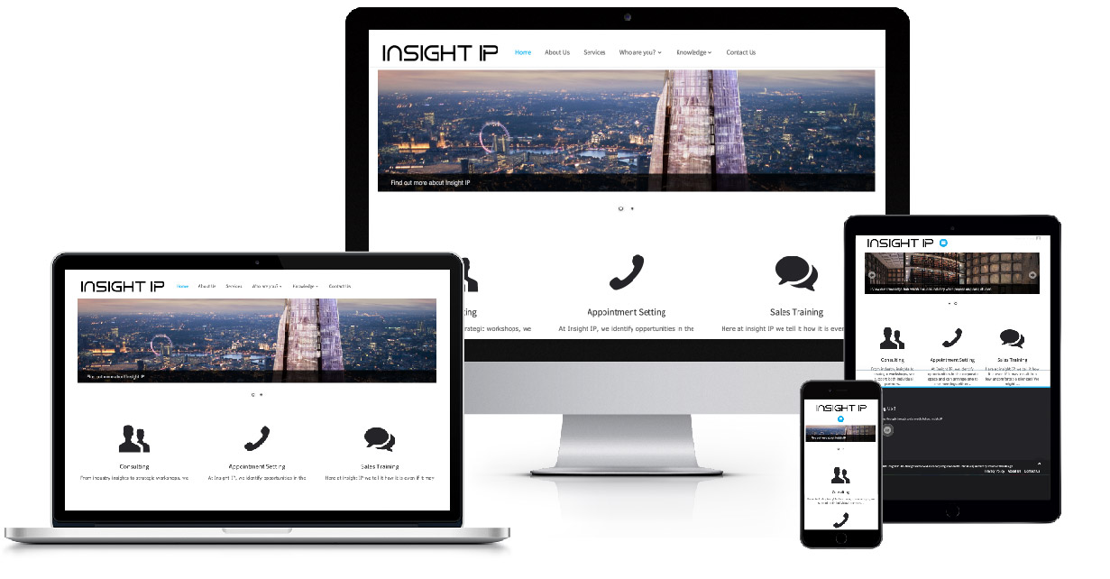 Insight IP Resonsive design